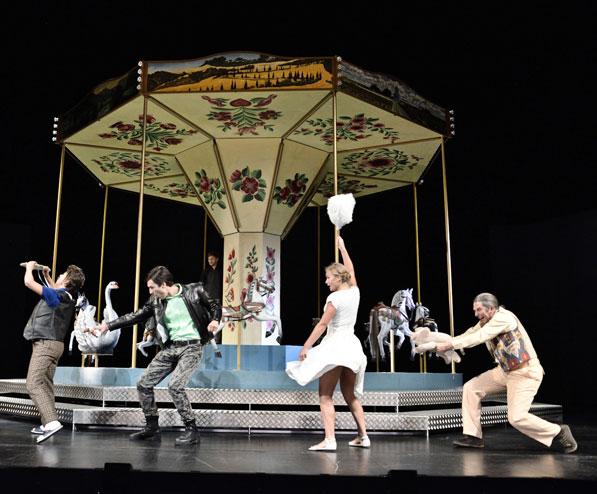MAX FRISCH: ANDORRA 2015 Theater St. Gallen www.theatersg.ch  Regie: Katja Langenbach