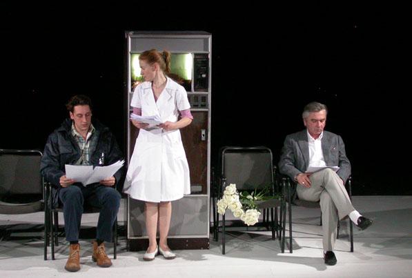 SABINE HARBEKE: NACHTS IST ES ANDERS 2006, szenische Lesung schauspielfrankfurt, Regie: Katja Langenbach