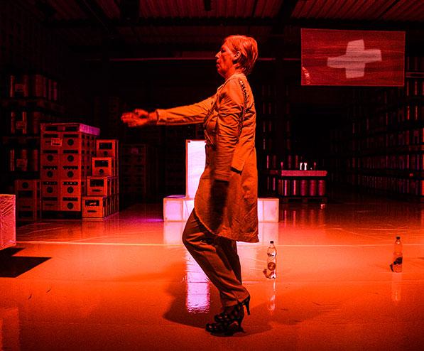 APÉRO RICHE, Der Landesstreik oder wa no übrig isch devo, Regie Katja Langenbach