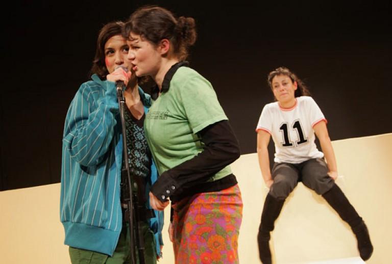 GESINE DANCKWART: GIRLSNIGHTOUT 2007 Vorarlberger Landestheater Bregenz, Regie: Katja Langenbach