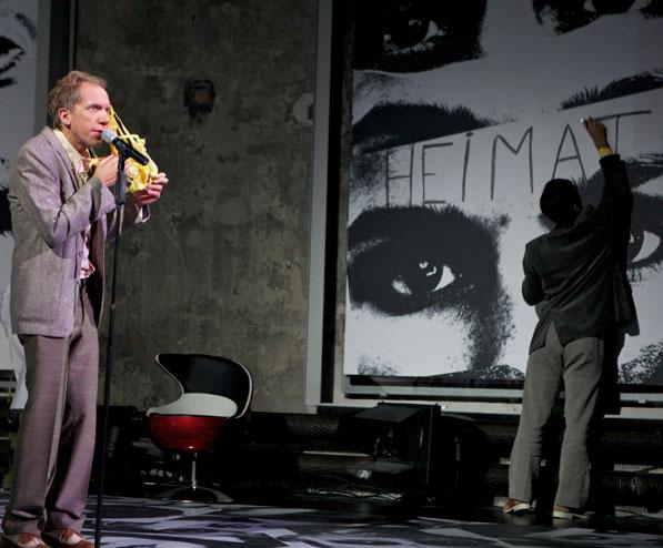 FRAGEBOGEN I-XI / BIOGRAPHIE, EIN SPIEL  Ein Max Frisch Projekt  2013 Theater St. Gallen, Regie: Katja Langenbach