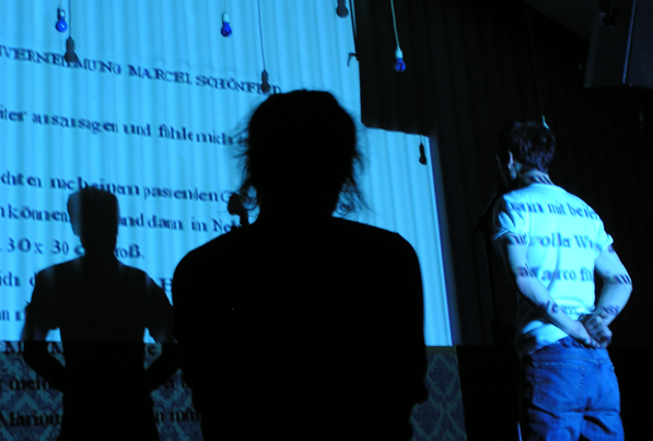 ANDRES VEIEL/GESINE SCHMIDT: DER KICK 2005 Thalia Theater, Regie: Katja Langenbach
